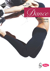 Silky Dance Adult Footless Tights Thumbnail