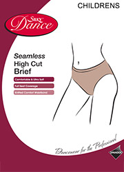 Silky Dance Children Seamless High Cut Brief