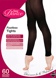 Silky Dance Childrens Footless Tights Zoom 2