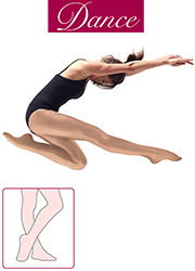 Silky Dance Adult Shimmer Full Foot Dance Tights Zoom 1
