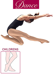 Silky Dance Childrens Shimmer Full Foot Dance Tights Zoom 1