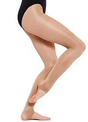 Silky Dance Adults Shimmer Stirrup Dance Tights Zoom 2