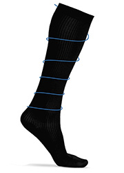 Silky Ladies Cotton Rich Compression Socks Zoom 1