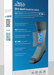 Silky Mens Diabetic Socks Zoom 2