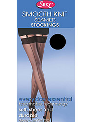 Silky Smooth Knit Seamer Stockings