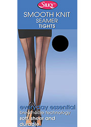 Silky Smooth Knit Seamer Tights