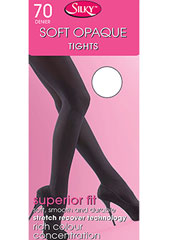 Silky Soft Opaque 70 Denier Tights Zoom 1