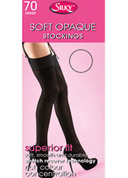 Silky Soft Opaque 70 Denier Stockings