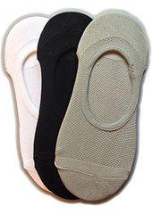 Silky Trainer Liners 3 Pair Pack Zoom 1