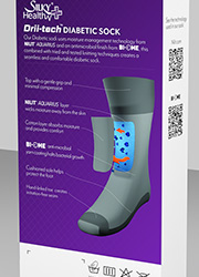 Silky Womens Diabetic Socks Zoom 2