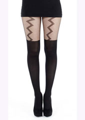 Tiffany Quinn Lightning Suspender Tights