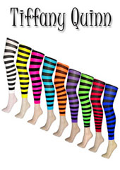Tiffany Quinn Pixie Footless Striped Tights