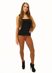Tiffany Quinn Pixie Thin Striped Tights at Fashion Tights
