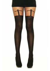 Tiffany Quinn T Cross Suspender Tights Zoom 2