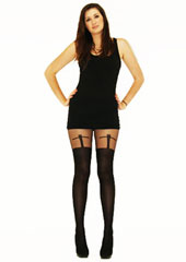 Tiffany Quinn T Cross Suspender Tights Zoom 1