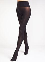 Tiffany Quinn 40 Denier Opaque Seamless Tights Zoom 1