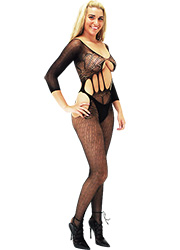 Tiffany Quinn Alessandra Crotchless Bodystocking