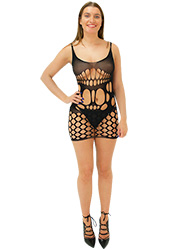 Tiffany Quinn Deborah Fishnet Dress at Fashion Tights