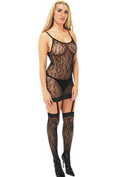 Tiffany Quinn Elena Fishnet Dress And Stockings Zoom 1