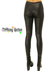 Tiffany Quinn Leather Look Leggings Zoom 1