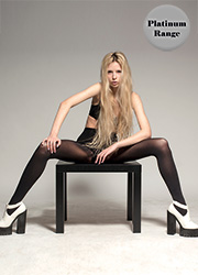 Tiffany Quinn Platinum Range 40 Denier Opaque Tights Zoom 1