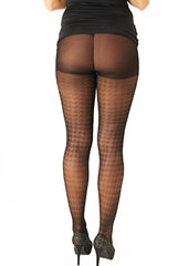 Tiffany Quinn Sheer Houndstooth Tights Zoom 2