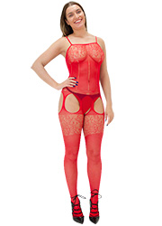 Tiffany Quinn Simone Crotchless Bodystocking
