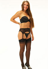Trasparenze Belle Epoque Suspender Tights Zoom 3