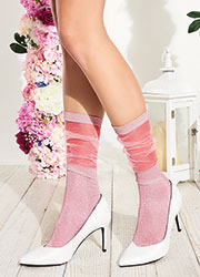Trasparenze Lavender Socks Zoom 2