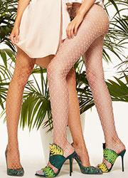 Trasparenze Ananas Net Tights Zoom 2