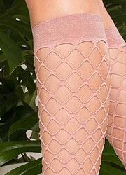 Trasparenze Ananas Sparkle Net Knee Highs Zoom 2