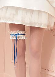 Trasparenze Aurora Bridal Garter