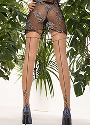 Trasparenze Avocado Fashion Tights Zoom 2