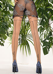 Trasparenze Avocado Fashion Tights