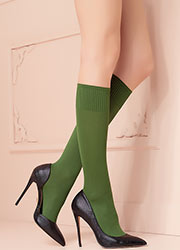 Trasparenze Cinzia Opaque Knee Highs Zoom 1