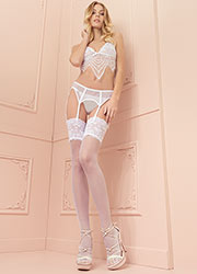 Trasparenze Eleonora 30 Denier Lace Top Stockings Zoom 1