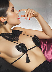 Trasparenze Febe Nipple Petals With Straps Thumbnail