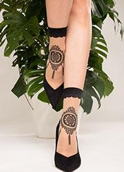 Trasparenze Feijoa Fashion Socks