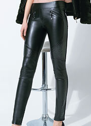 Trasparenze Fez Faux Leather leggings Zoom 2