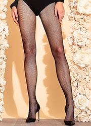 Trasparenze Gardenia Lurex Fishnet Tights Zoom 1