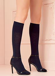 Trasparenze Georgia Cashmere Knee Socks