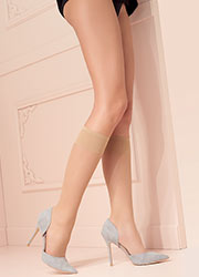 Trasparenze Grazia Coloured Knee Highs 2 Pair Pack Zoom 2