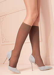 Trasparenze Grazia Coloured Knee Highs 2 Pair Pack Zoom 1