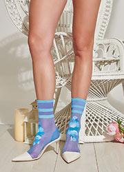 Trasparenze Guava Socks Zoom 2