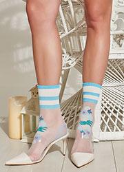 Trasparenze Guava Socks