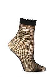 Trasparenze Idra Fishnet Ankle Highs Zoom 2