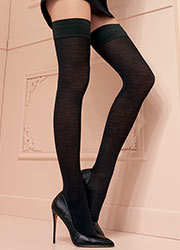 Trasparenze Jennifer Merino Wool Hold Ups Zoom 2