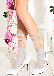 Transparenze Lavender Socks