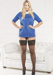 Trasparenze Margherita Plus Size Hold Ups
