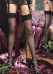 Trasparenze Pennac Seamed Stockings Zoom 3